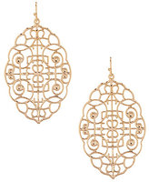 Natasha Accessories Maze Drop Earrings