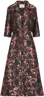 Erdem Kristen Brocade Maxi Dress