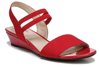 LifeStride Yolo Strappy Wedge Sandal - Wide Width Available