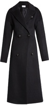 Raey Peak-lapel wool-silk coat