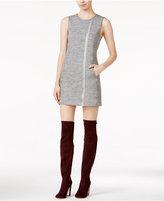 Kensie Zip-Detail Mini Dress