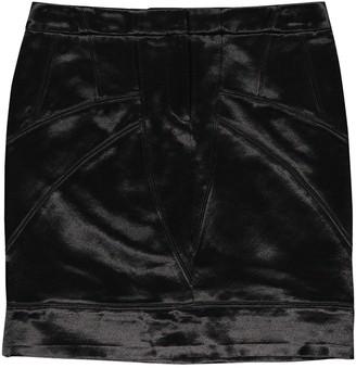 Barbara Bui Black Cotton Skirt for Women