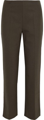 Fendi Embroidered Woven Straight-leg Pants
