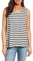 Women's Caslon Tie Back Sleeveless Top