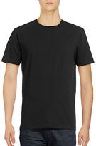 Black Brown 1826 Hudson North Cotton Crew Neck T-Shirt
