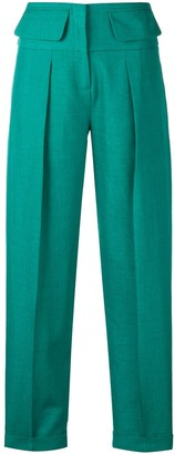 Victoria Victoria Beckham tailored high-waisted trousers