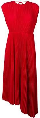 MSGM micro pleated midi dress