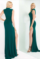 Ieena for Mac Duggal - High Neck Gown Style 25034I