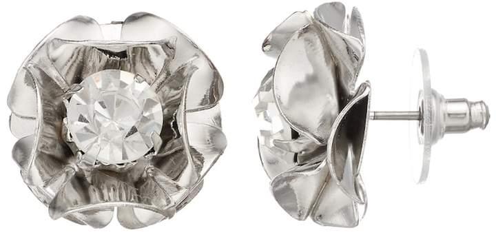 Simply Vera Vera Wang Flower Stud Earrings