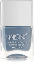 Nails Inc Sweet Almonds Powered By Matcha Nail Polish - Gloucester Crescent