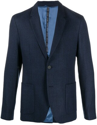 HUGO BOSS Fitted Single-Breasted Blazer