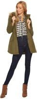 BB Dakota Medici Microfiber Fur Trimmed Coat Women's Coat