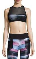 Koral Activewear Believer Versatility Sports Bra, Blur/Black