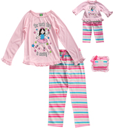 Dollie & Me Pink 'Tooth Fairy' Pajama Set & Doll Outfit - Girls
