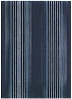 """Traders and Company 100% Cotton Dark & Light Blue Striped 20""""x28"""" Dish Towel, Set of 6"""