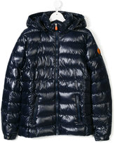 Save The Duck Kids classic puffer jacket