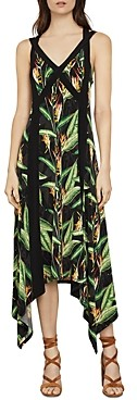 BCBGMAXAZRIA Bird Of Paradise Strappy Midi Dress