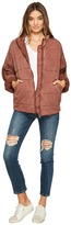 Free People Dolman Quilted Jacket Women's Coat
