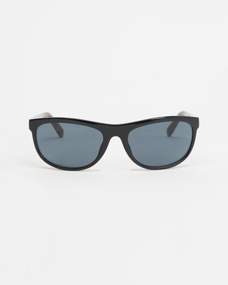 Le Specs Black Rectangle - Pirata - Size One Size at The Iconic