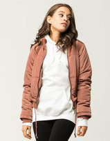 WHITE FAWN Solid Womens Puffer Jacket