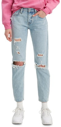 Levi's 501® Ripped Tapered Leg Jeans