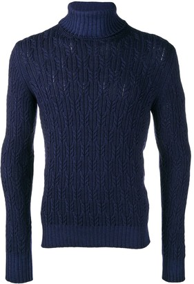 Barba Roll Neck Sweater
