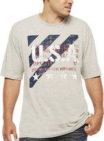 Lee Short-Sleeve USA Stripe Cotton Tee