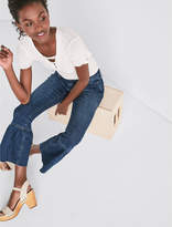 Lucky Brand The Shrunken Ruffle Flare Jean