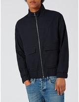 Topman Topman Zip-up Woven Jacket