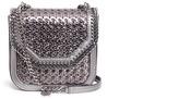 Stella McCartney 'Falabella Box' mini wicker effect alter nappa chain shoulder bag