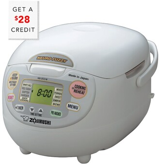 Zojirushi 10-Cup Neuro Fuzzy Rice Cooker & Warmer