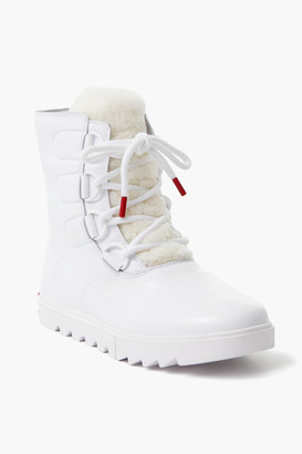 Sorel White Joan Next Light Boots