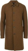 Harris Wharf London - single-breasted coat - men - Virgin Wool - 46