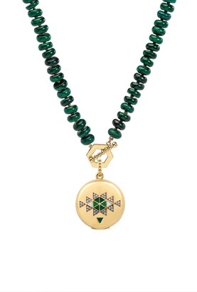 Harwell Godfrey Signature Vertly Locket Necklace