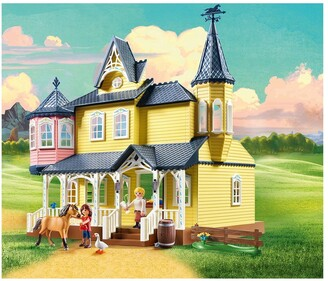 Playmobil DreamWorks Spirit 9475 Lucky's Happy Home