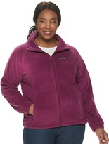 Columbia Plus Size Benton Springs Full Zip Fleece Jacket