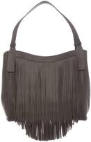 Frye Ray Leather Fringe Shoulder Bag