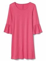 Gap Softspun bell-sleeve dress
