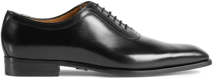 Gucci Leather lace-up - ShopStyle
