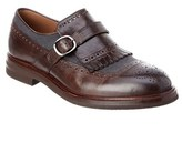 Brunello Cucinelli Brouge Leather Loafer.