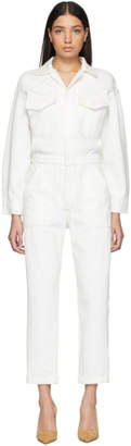 Citizens of Humanity Off-White Marta Jumpsuit