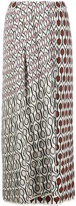 Christian Wijnants Geometric Print Skirt