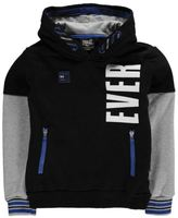 Everlast Kids Boys Contrast OTH Hoody Junior Hoodie Hooded Top Long Sleeve Zip
