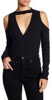 Lush Long Sleeve Ribbed Bodysuit