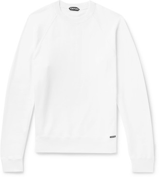 Tom Ford Fleece-Back Cotton-Jersey Sweatshirt