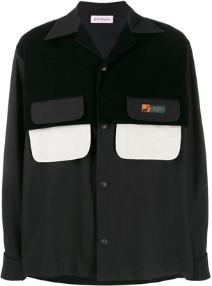 Palm Angels Double Pocket Overshirt