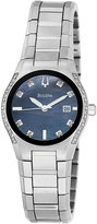 Bulova Women's 96R132 Mother-Of-Pearl Stainless-Steel Quartz Watch