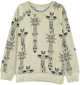 Mini Rodini Organic Cotton Totem Sweatshirt