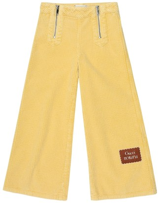 Gucci Kids Corduroy pants