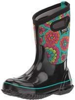 Bogs Unisex-Kids Classic Pansies Snow Boot